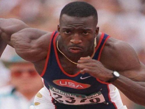 Gli dei dello sport. Michael Johnson.