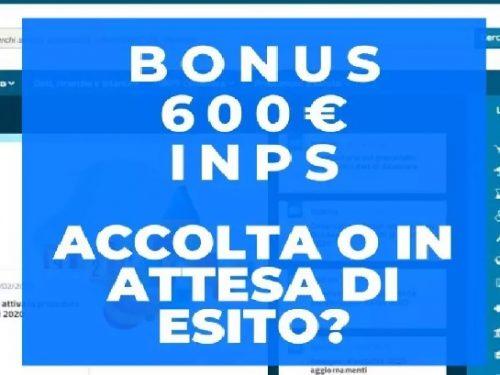 Il bonus di 600 euro agli autonomi che ovviamente non mi è mai arrivato! di Yvan Rettore