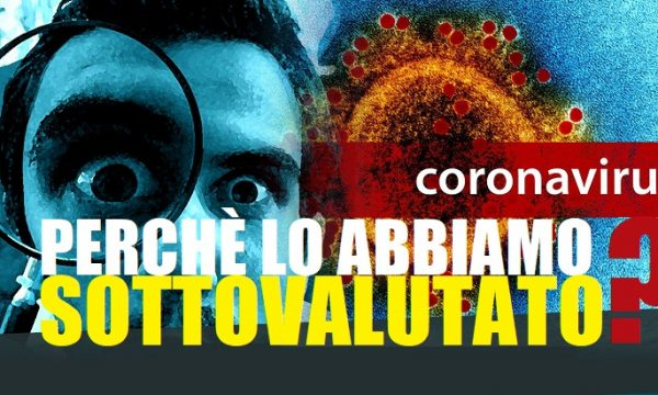 Coronavirus: dobbiamo evitare l'allarmismo o il contagio? di Attilio Runello