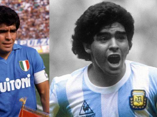 Gli dei dello sport. Diego Armando Maradona. di Alberto Sigona