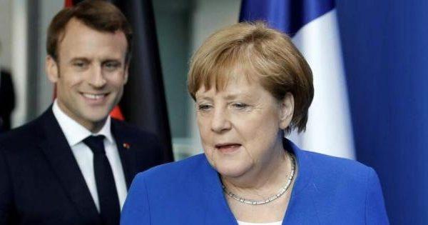 La miope politica della fredda Merkel e del galletto Macron. di Salvatore Falzone