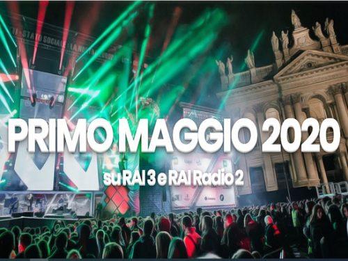 Il Primo Maggio 2020 in TV. Per la prima volta Piazza San Giovanni resta vuota e in silenzio.