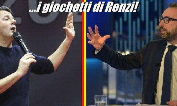 Bonafede e i giochetti di Renzi. di Gaetano Pedullà