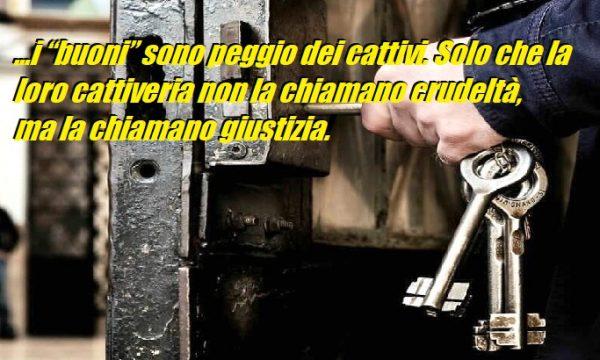 Carcere: la vendetta della giustizia. di Carmelo Musumeci