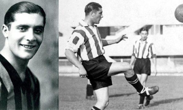 Gli eroi dello sport. Giuseppe Meazza. di Alberto Sigona
