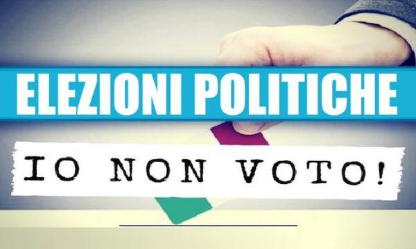 La politica deve rinnovarsi, non a caso in Italia il 1° partito è quello del Non Voto. di Giacomo-TO