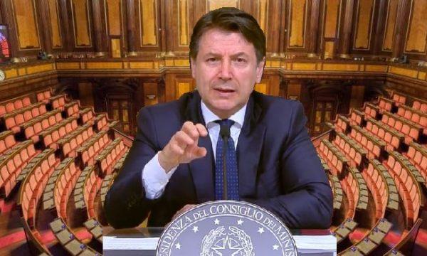 La dittatura del Covid-19: il Parlamento abdica all'esecutivo, governo Conte docet! di Giacomo-TO