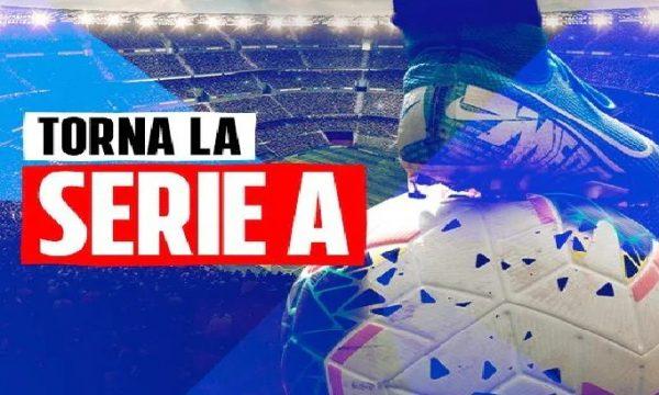 La serie A riparte il 20 giugno. La Coppa Italia il 13.