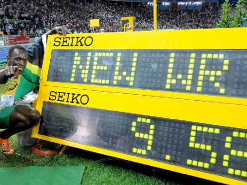 Gli dei dello sport. Usain Bolt. di Alberto Sigona