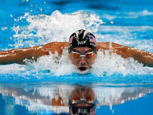 Gli dei dello sport. Michael Phelps