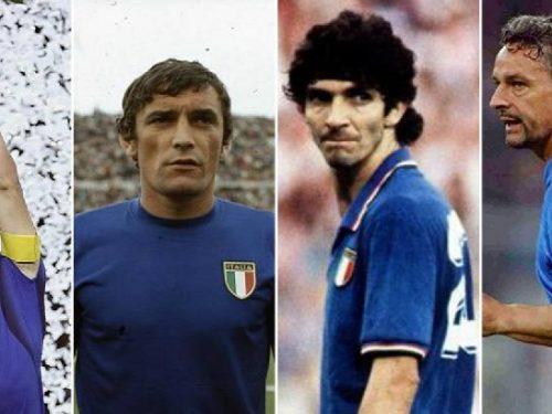 I più grandi della nazionale di calcio italiana.