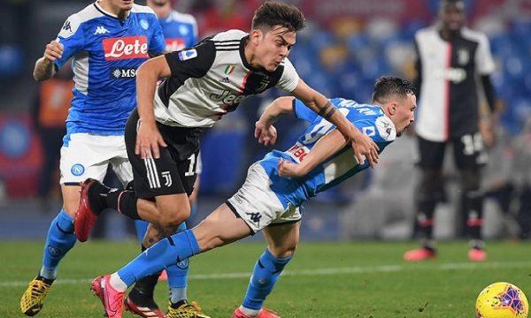 Finale di Coppa Italia: Napoli – Juventus.