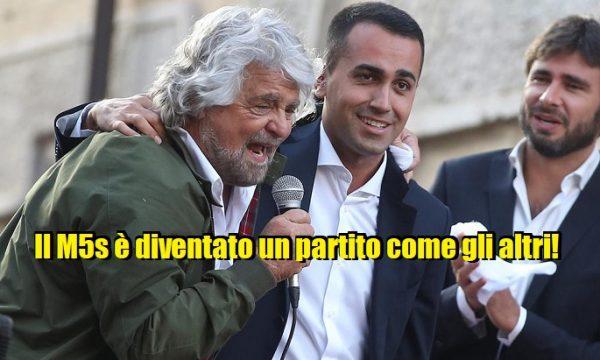 Per il 58% degli italiani il M5Stelle è diventato un partito come tutti gli altri.