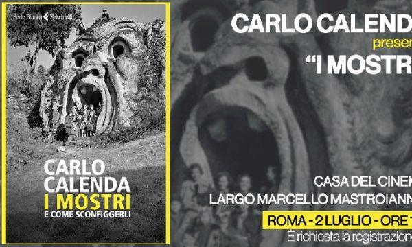 """Carlo Calenda presenta """"I Mostri"""" il 2 luglio a Roma."""