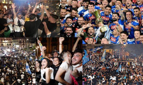 Napoli, la festa in strada dei tifosi diventa un caso.