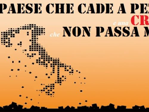 Oggi il vero problema dell'Italia sono le tasse.