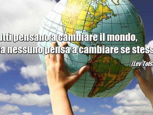 A proposito di cambiare il mondo…