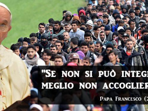 Tutti in Italia! Ma non si può accogliere in questo modo.