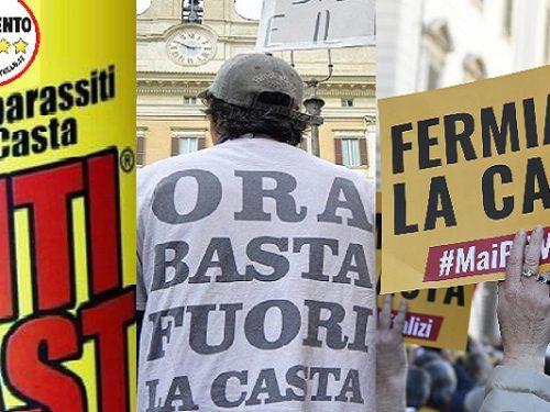 M5S da Anticasta a Casta partitocratica.