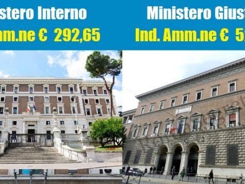 Perequare l'Indennità di Amministrazione dei Ministeri più poveri a quelli più ricchi.