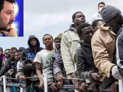 Salvini con tre twitter riprende a cavalcare l'emergenza immigrazione!