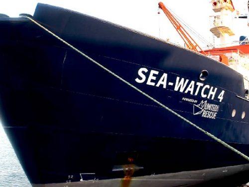 Sea Watch 4 pronta a salpare dalla Spagna: è costata 1,3 milioni.