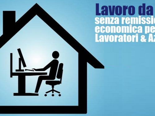 Smart working, luci e ombre.