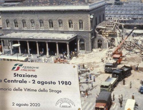 Anniversario della strage fascista alla stazione di Bologna.