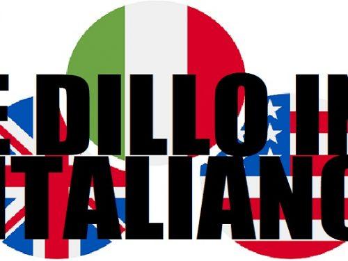 Siamo italiani, viviamo in Italia, ma ci parlano in inglese!