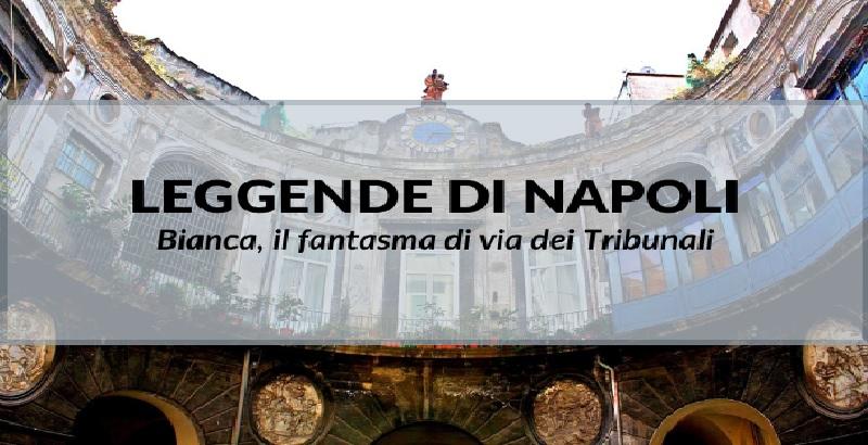 Napoli. Il fantasma di Bianca, sfortunata damigella a Palazzo Spinelli.