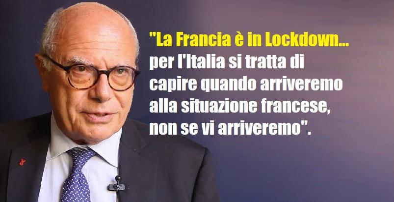 Galli: Il lockdown ci sarà, faremo come la Francia: bisogna solo capire quando.