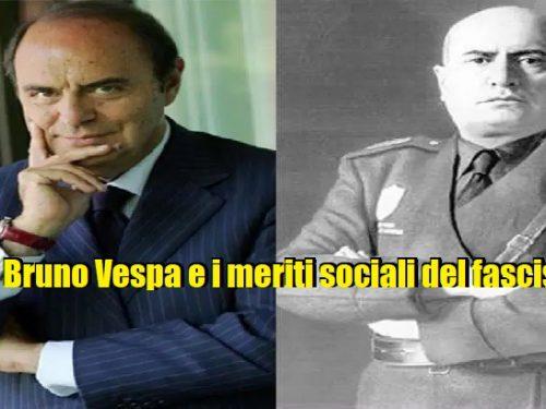 """Le incredibili esternazioni di Bruno Vespa sui """"meriti sociali"""" del fascismo. 2.5 (4)"""