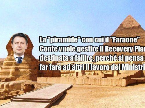 """La """"Piramide"""" con cui il """"Faraone"""" Conte vuole gestire il Recovery Plan è destinata a fallire! 0 (0)"""