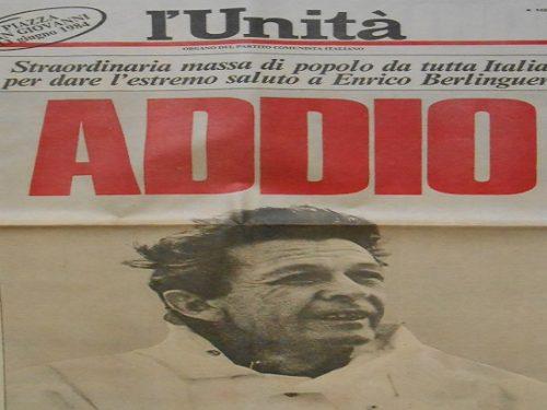 Cosa ci faceva un austriaco armato di coltello dietro la porta di Enrico Berlinguer morente? 2.3 (3)