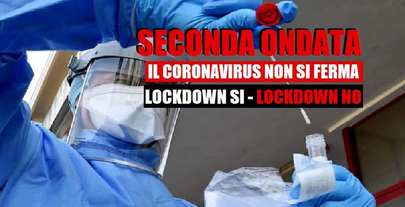 Lockdown Sì – Lockdown No. Le tifoserie, sono il vero male del nostro paese.