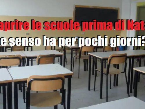 Perchè questo rientro 'frettoloso' a scuola? 5 (1)