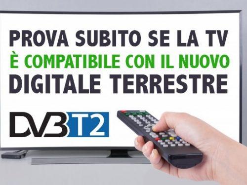 Nuovo Digitale Terrestre 2021: il test per capire se bisogna cambiare Tv.