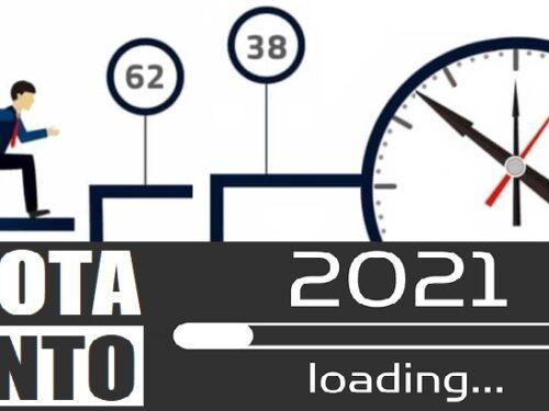 Pensioni. Il 2021 è l'ultimo anno di 'Quota 100'!