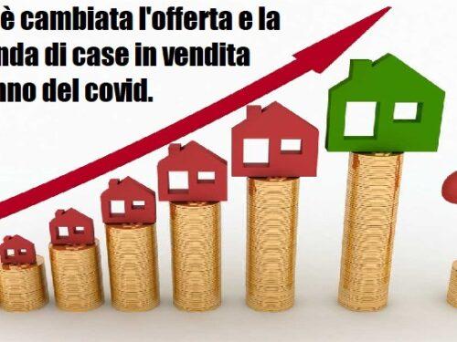 Prezzi delle case in venditain Italia sono aumentati del 2,3% negli ultimi 12 mesi.