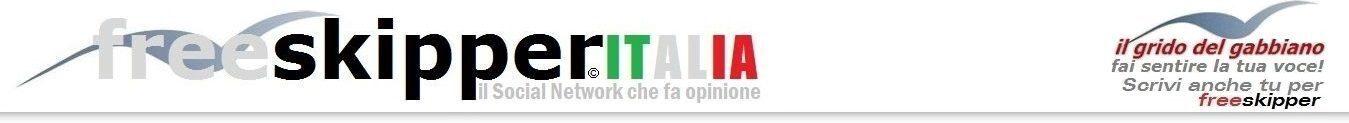 """Freeskipper Italia 🇮🇹 Il Social Network che pubblica i tuoi articoli.  Il primo sito italiano di giornalismo partecipativo. Diventa anche tu """"Freeskipper-Journalist""""."""