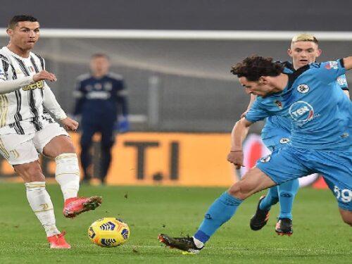 Juventus-Spezia 3-0. Ronaldo raggiunge Pelé a 767 reti!