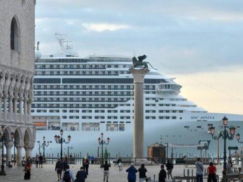 Governo Draghi: Via le navi da crociera da Venezia.