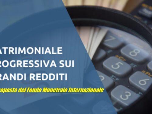 Il Fmi vuole la patrimoniale in Italia.