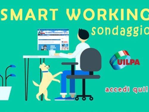 Lo Smart Working nel pubblico impiego. Sondaggio della UILPA