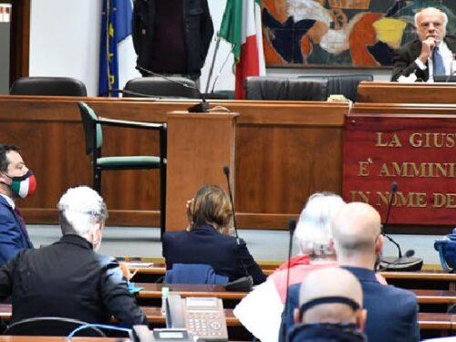 """Caso Gregoretti, Salvini non sarà processato. Il Gup: """"Non luogo a procedere, il fatto non sussiste""""."""