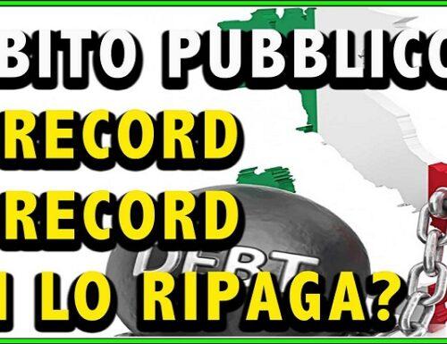 Debito pubblico da record: è salito a 2.650,9 miliardi!