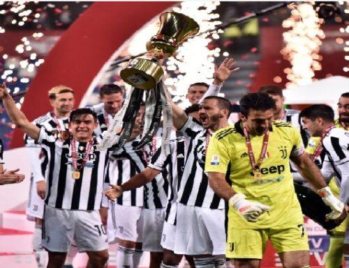 La Juventus conquista la Coppa Italia… davanti al pubblico.