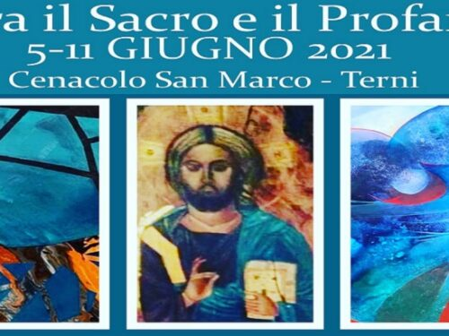 """Mostra d'arte """"Tra il Sacro e il Profano""""."""