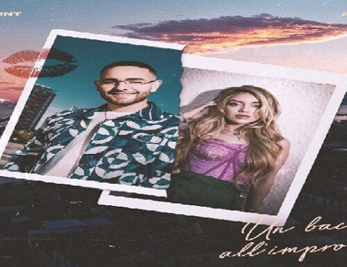 'Un bacio all'improvviso', il nuovo singolo di Rocco Hunt e Ana Mena.