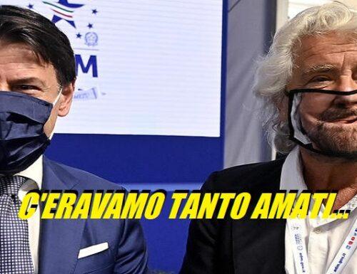 """La risposta di Conte a Grillo: """"Svolta autarchica che mortifica tutti""""."""